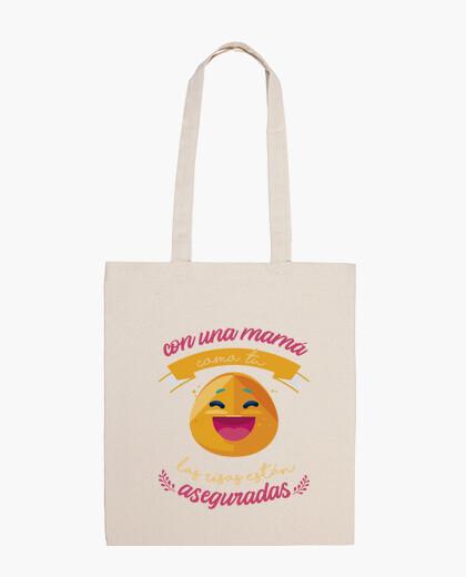 Bolsa Con una mama como tú las risas están aseguradas