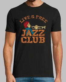 conception de club de jazz rétro