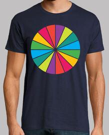 conception de roue de couleur artsy