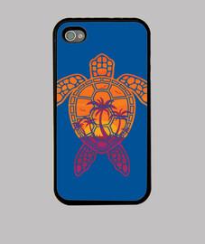 conception de tortue de mer coucher de