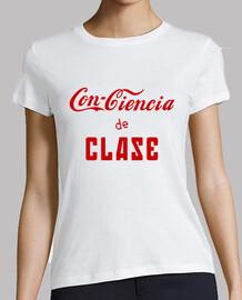 Conciencia de Clase (rojo) -Chica