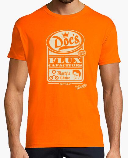 Camiseta CONDENSADOR DE FLUZO, HOMBRE NARANJA