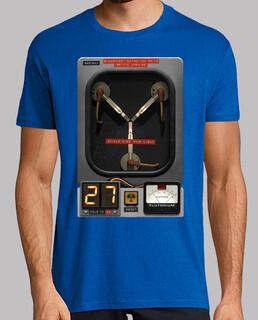 Condensador Fluzo regreso al futuro cine camiseta frikis friki