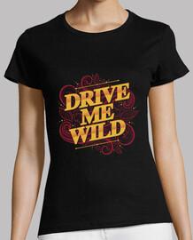 conducirme camisa mujer salvaje