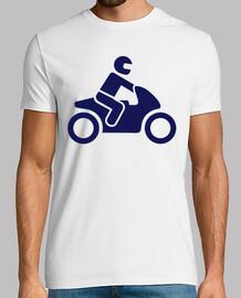 conducteur de moto