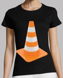 cône signal signalisation route travaux