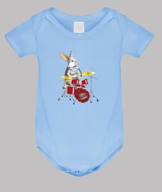 conejito baterista