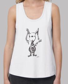 conejito monstruoso - camiseta suelta