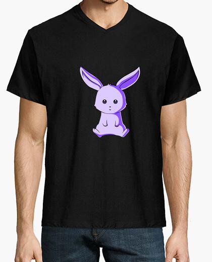 Camiseta Conejito Morado