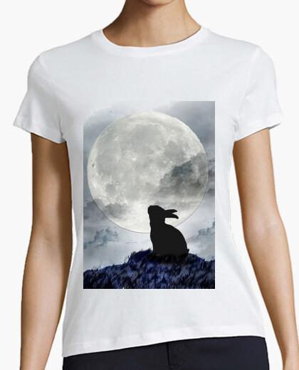 Camiseta conejo-lobo