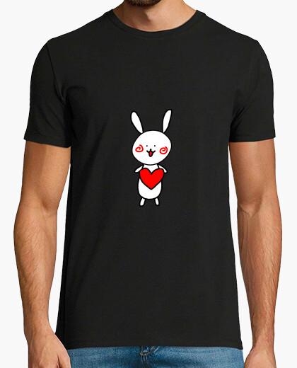 Camiseta conejo - amor - linda - bebé