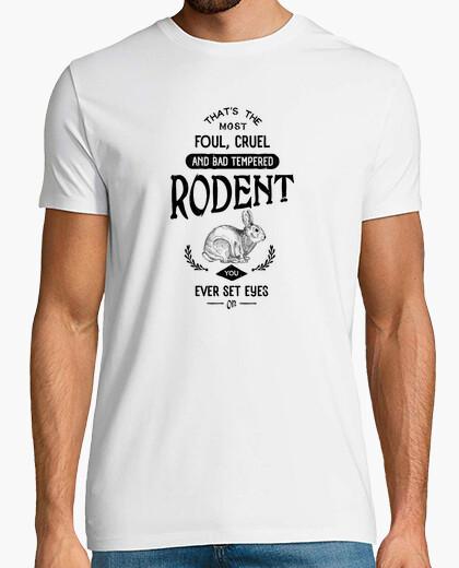 Camiseta conejo asesino