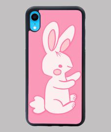 Conejo bebe rosa adorable tierno cute
