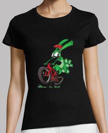 conejo bicicleta!