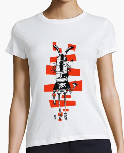 Camiseta conejo grafitero