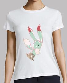 Conejo helado de menta