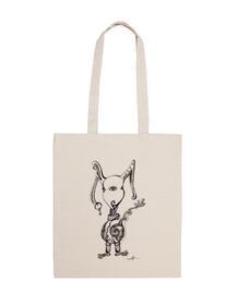conejo monstruoso - bolsa