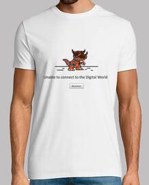 conexión mundo digital perdido - hombre camiseta