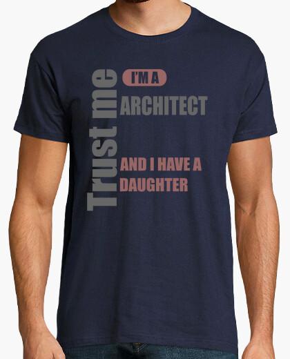 Camiseta confía en mí soy arquitecto y tengo una