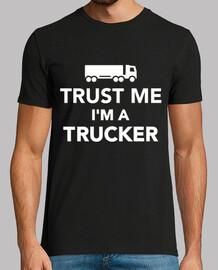 confía en mí soy un camionero