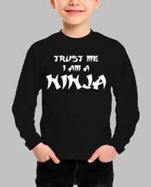 confía en mí soy un ninja