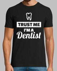 confíe en que yo un dentista
