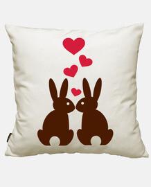 coniglietti hearts amore