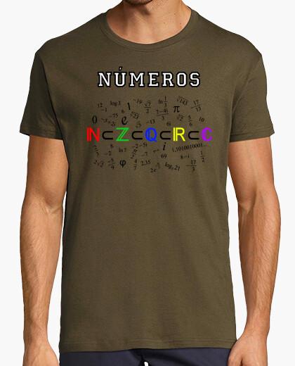 Camiseta Conjuntos numéricos