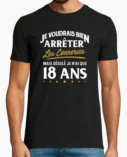 Tee-shirt Conneries 18 ans