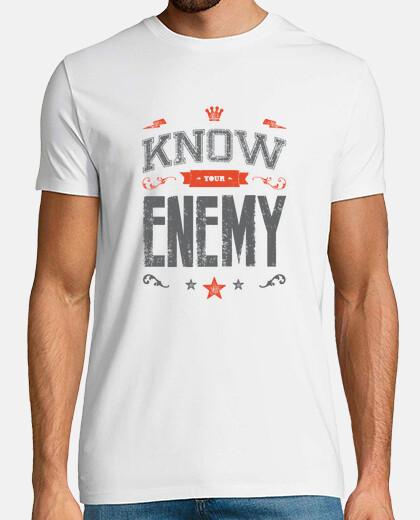 conocer a su hombre camiseta enemigo