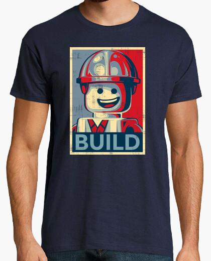 Camiseta construir