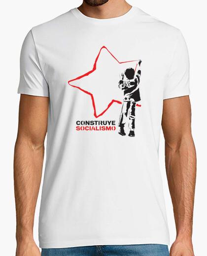 Camiseta Construye socialismo
