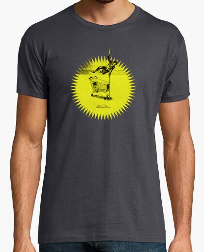 Camiseta Consumaquia amarilla/ gris chaval