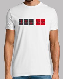 Contador perdidos camiseta hombre