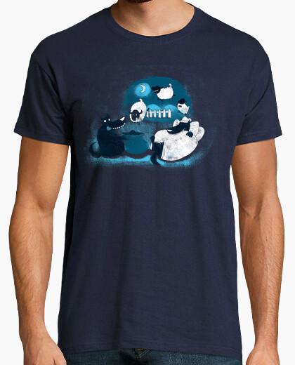 Camiseta contando ovejas