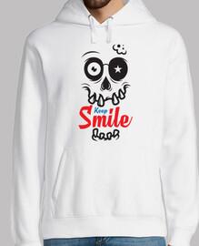 continua a sorridere