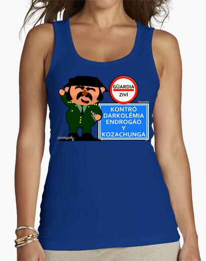 Camiseta CONTROL DE LA GUARDIA CIVIL