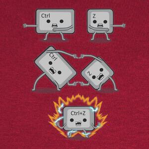 T-shirt Control Z Fusion