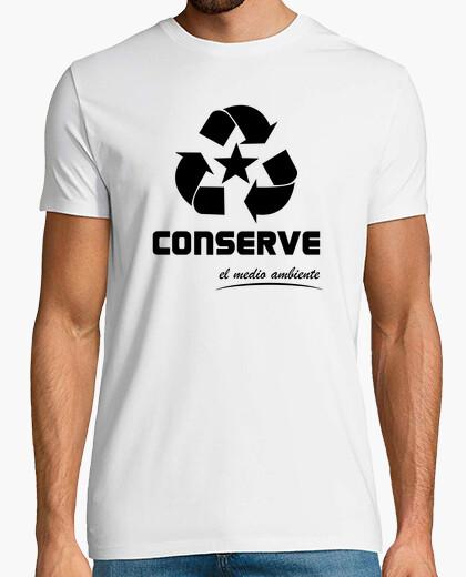 Camiseta Converse - Conserve el medio ambiente -