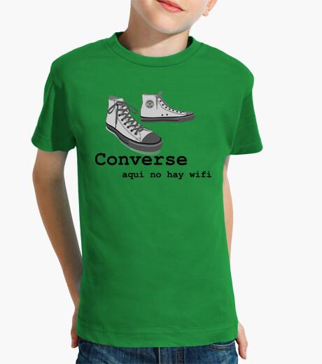 2t shirt converse ragazzo