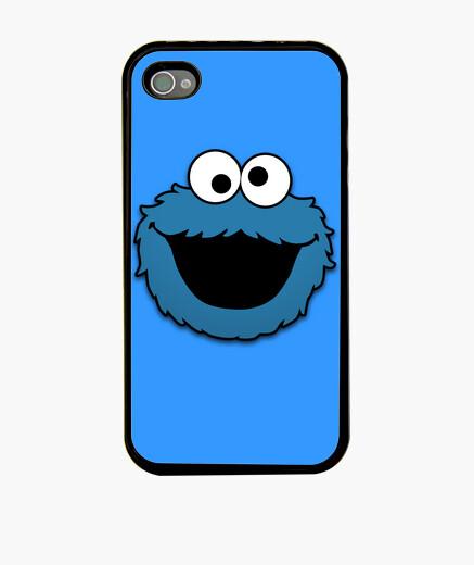 Funda iPhone Cookie Monster, Monstruo de las Galletas