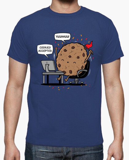 Camiseta Cookies Accepted