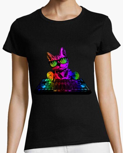 Tee-shirt cool cat dj