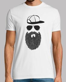 Cool Hipster Beard Men gift Idea
