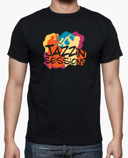 Cool jazz musicians t-shirt