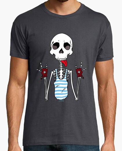T-shirt cool scheletro.
