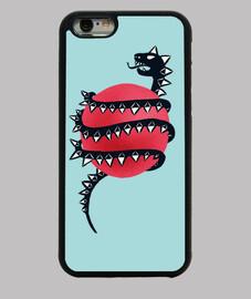 cool serpent de dragon maléfique