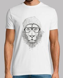 cooler löwe (bw)