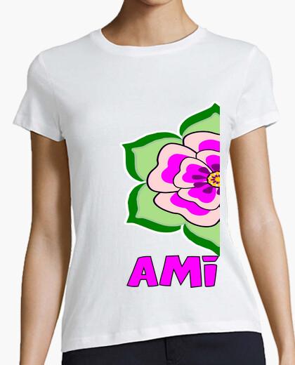 Tee-shirt cooltee amitié chemise. disponible uniquement en latostadora
