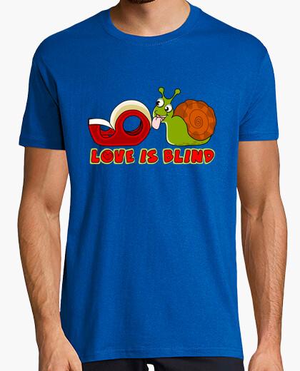 Tee-shirt cooltee amour aveugle. disponible uniquement en latostadora